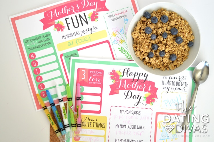 Mother's Day Placemats