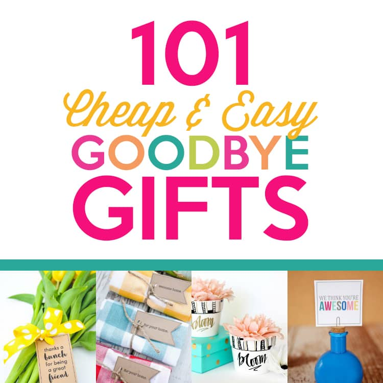 101 Cheap Amp Easy Goodbye Gifts The Dating Divas