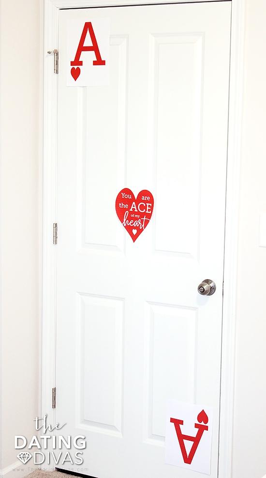 Sexy Card Bedroom Door