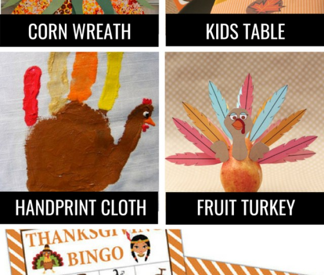 Thanksgiving Traditions For Kids And Family