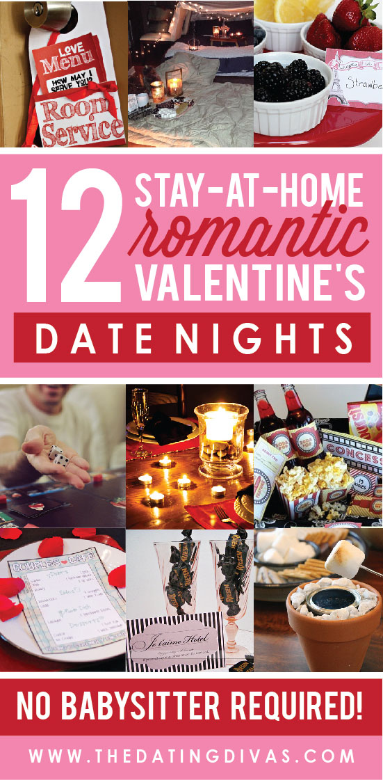 At Home Romantic Valentine's Date Nights