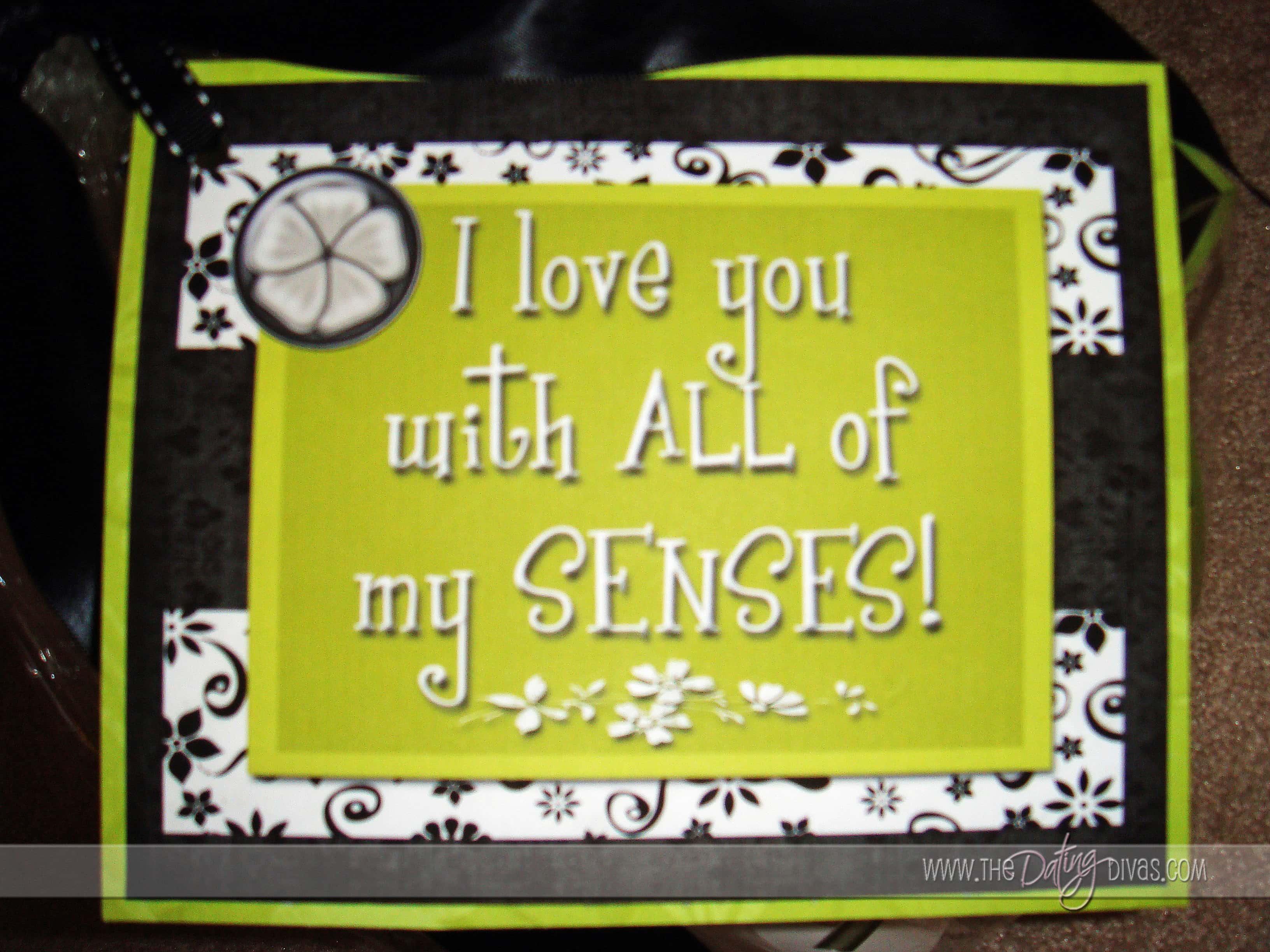 The Five Senses T