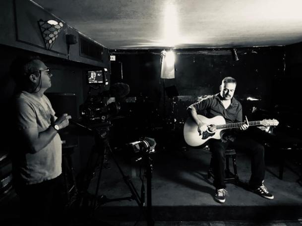 Dave Video Shoot