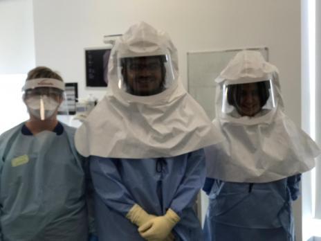 Dr Huzaifa Adamali and colleagues