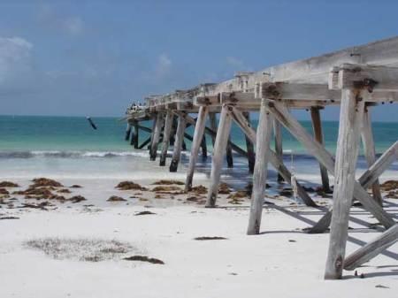 Eucla, Plage de sable blanc,  Australie