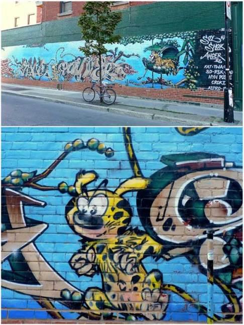 Marsupilami Art montreal