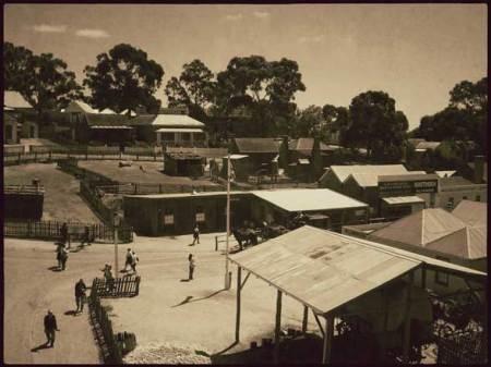 Sovereign Hill village d'antan