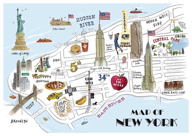 new york map 2