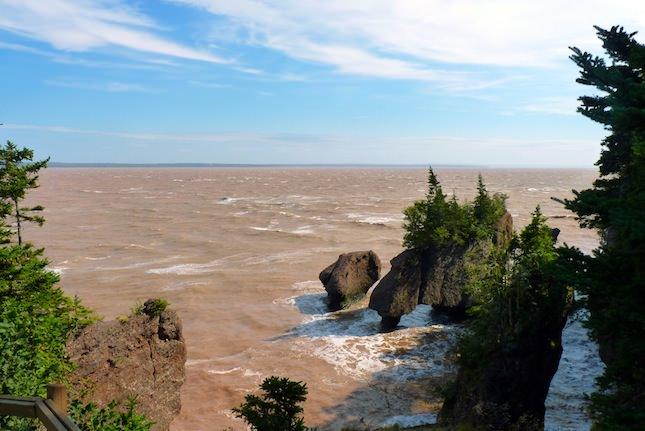Baie de fundy Nouveau Brunswick