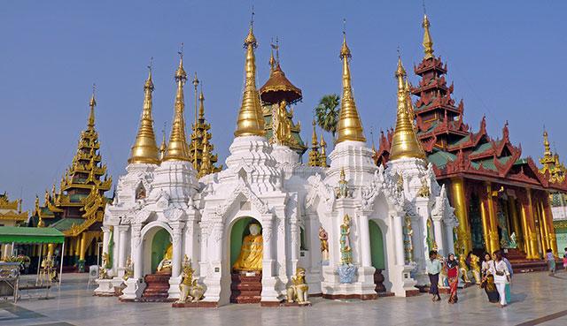 pagode shwedagon birmanie