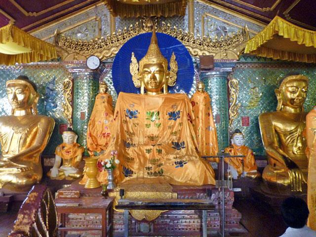 pagode birmanie yangon