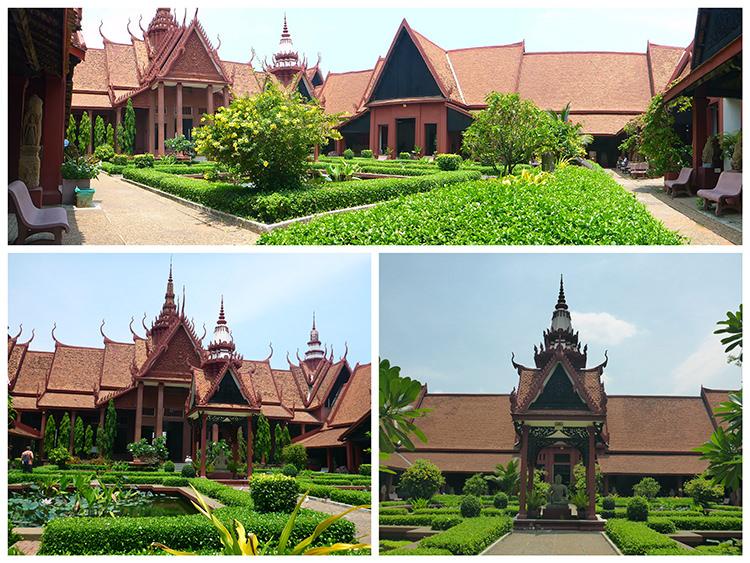 Musée national, Phnom Penh, Cambdoge