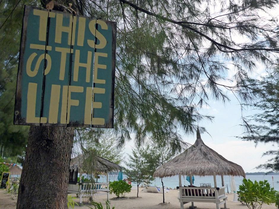 Indonésie, Gili Air, This is the life
