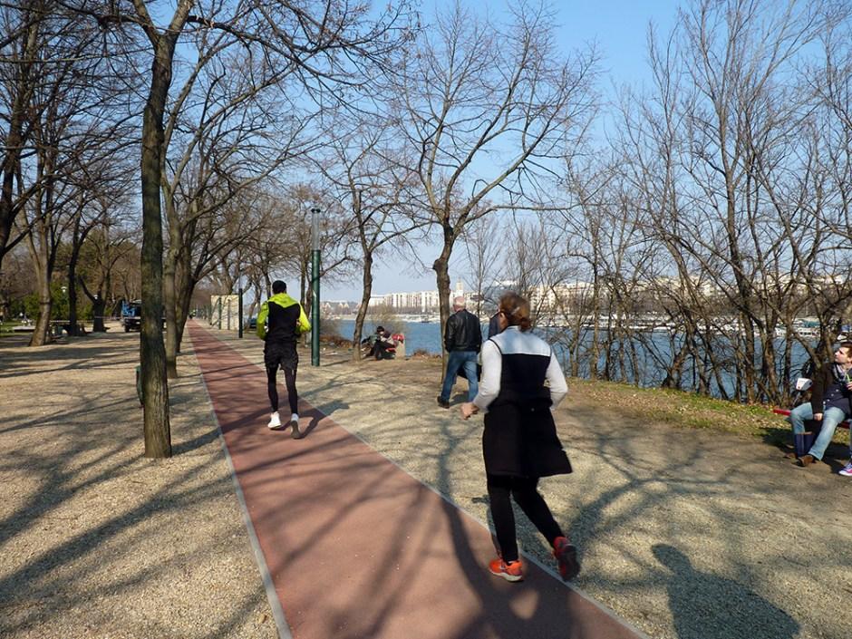Parc de l'île Marguerite à Budapest Hongrie