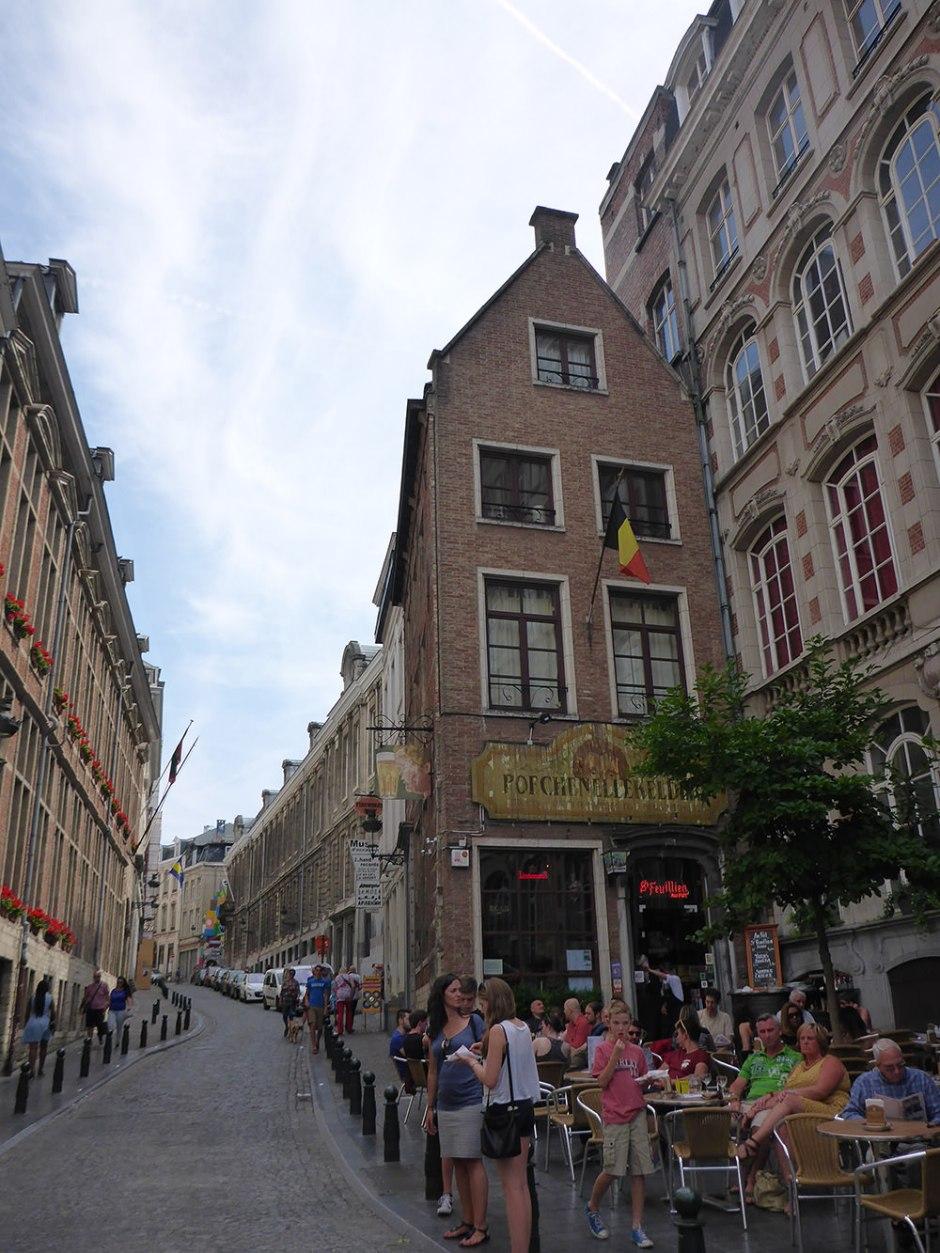 Petite rue de Bruxelles