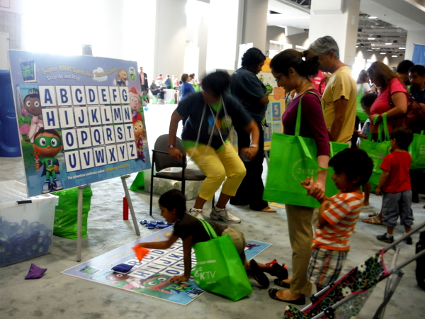 A Peek Inside The First Indoor National Book Festival