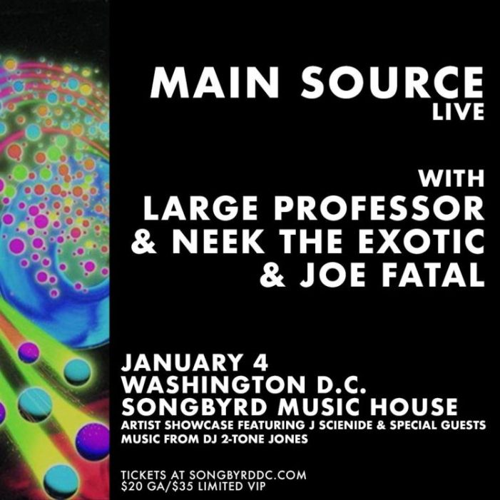 Main Source celebrates 25 years of Hip Hop in the District