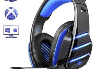 PS4 Beexcellent Gaming Over-Ear Headset GM-3BB