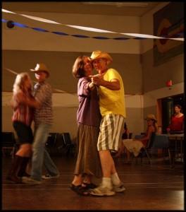 Ken and Cherryl dancing