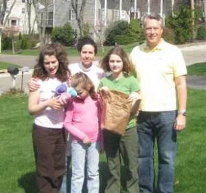Mia, Kim, Bella, Gianna and Mark