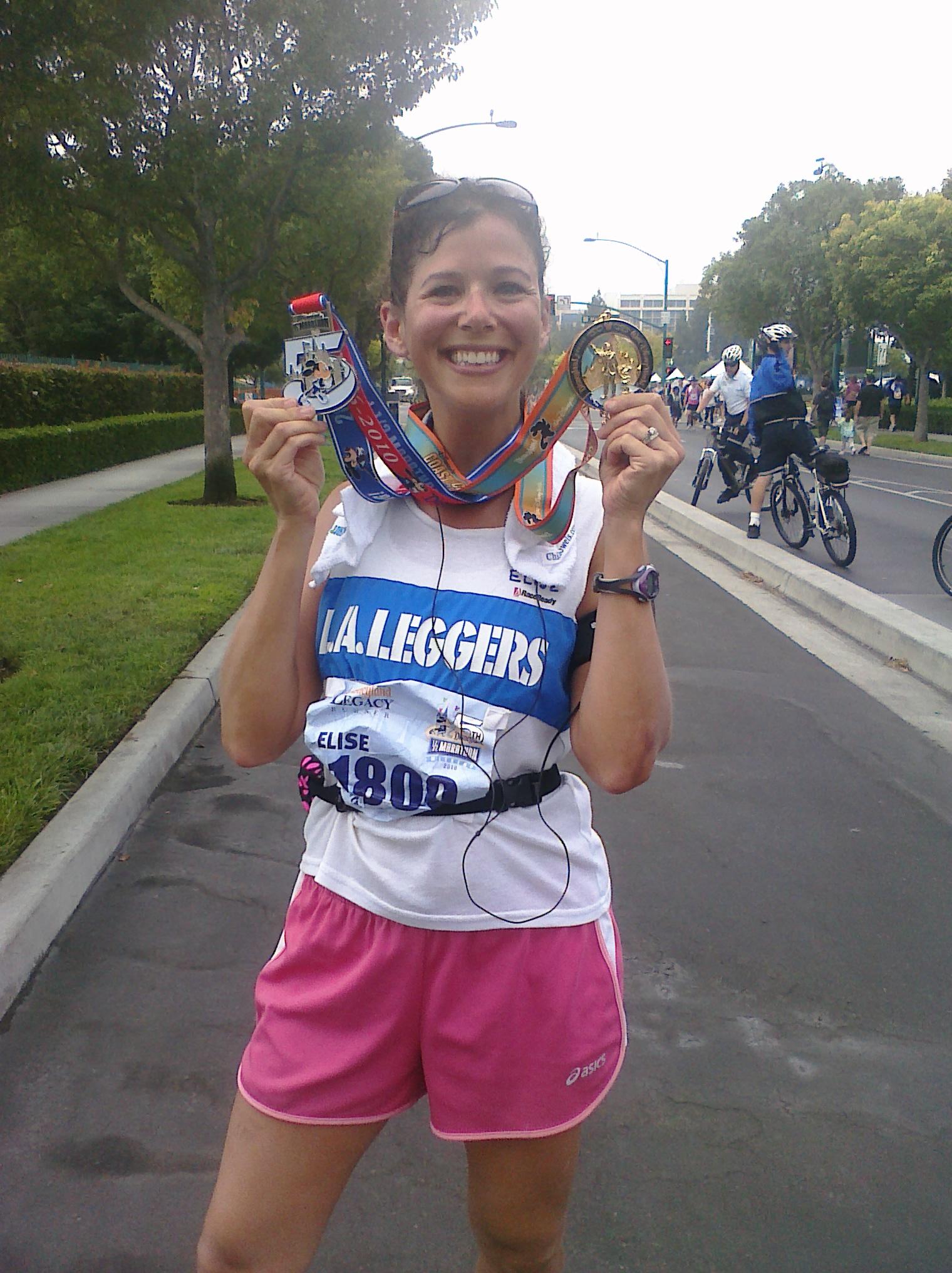 Disneyland Half Marathon Finish!