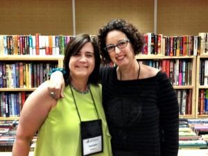 And I finally got to meet 2013 Deb Susan Spann! She's wonderful.