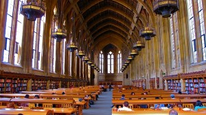 I took a lot of naps in the Suzzallo Library at UDub.