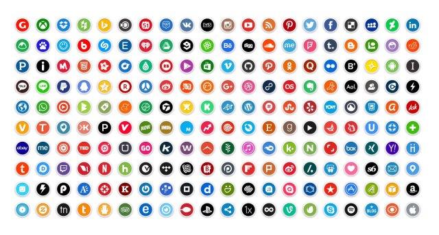 250-Free-Premium-Round-Social-Media-Icons-2016