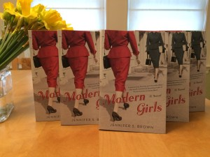 Actual copies of MODERN GIRLS by Jennifer S. Brown