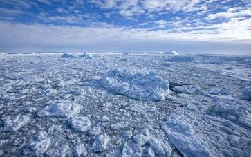 Pack ice and icebergs, Antarctic Peninsula, Weddell Sea, Antarctica, Polar Regions