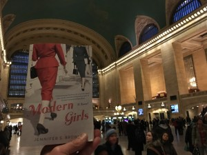 MODERN GIRLS in Grand Central Station