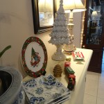 Christmas Upstairs and a little Vignette at The Dedicated House