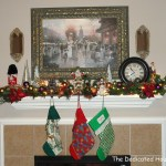 The Christmas Mantel