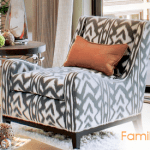 Furniture Becomes New Again with the Right New Fabric