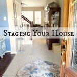 Staging the Entryway, Voice Studio and Dining Room