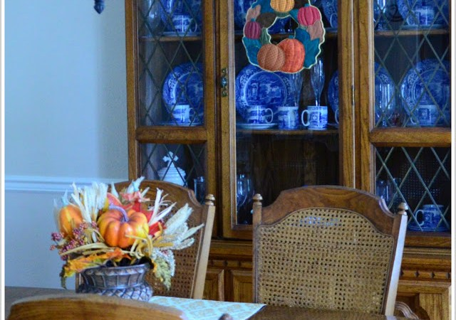 The Last Fall Decor Post…Because I Just Don't Have A Lot of Fall Decor