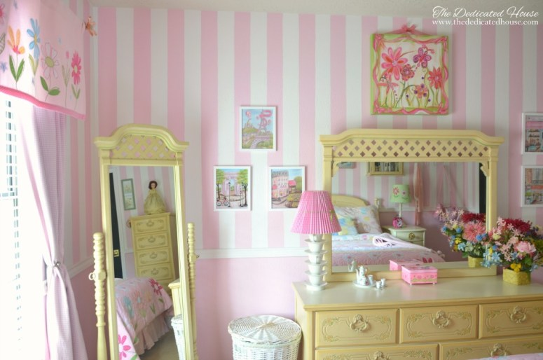 One Room Challenge - Little Girl's Bedroom Makeover