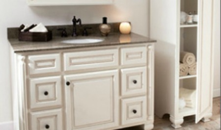 Smart Way Replace Bathroom Vanity Cabinet