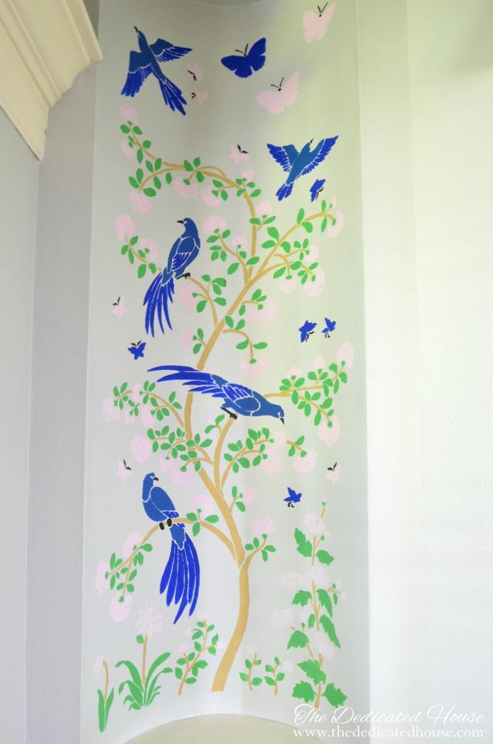 Art Niche Chinoiserie Style