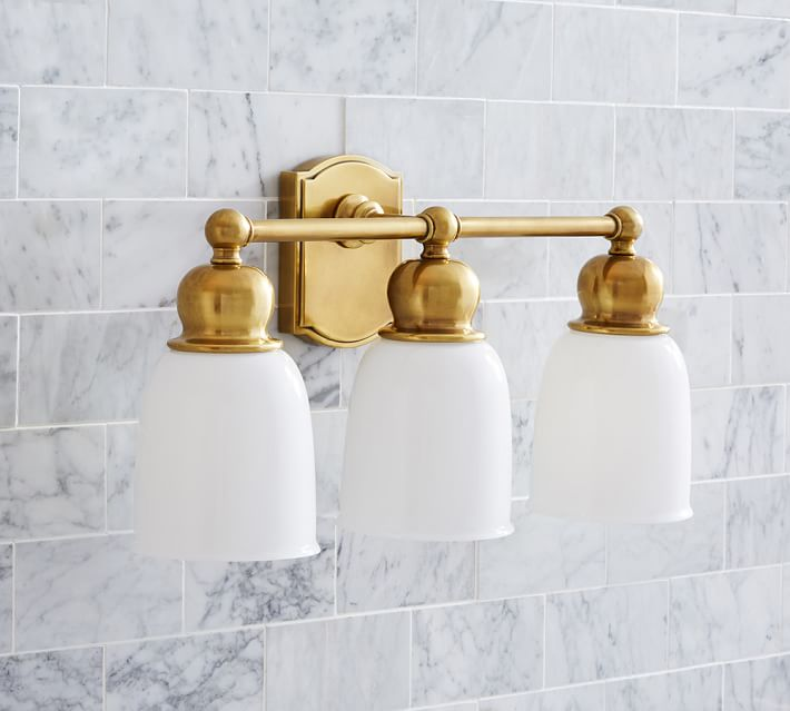 Fresh Powder Room Hardware