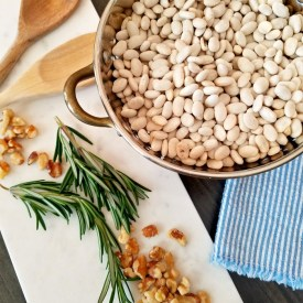 In the Kitchen – White Bean and Rosemary Soup