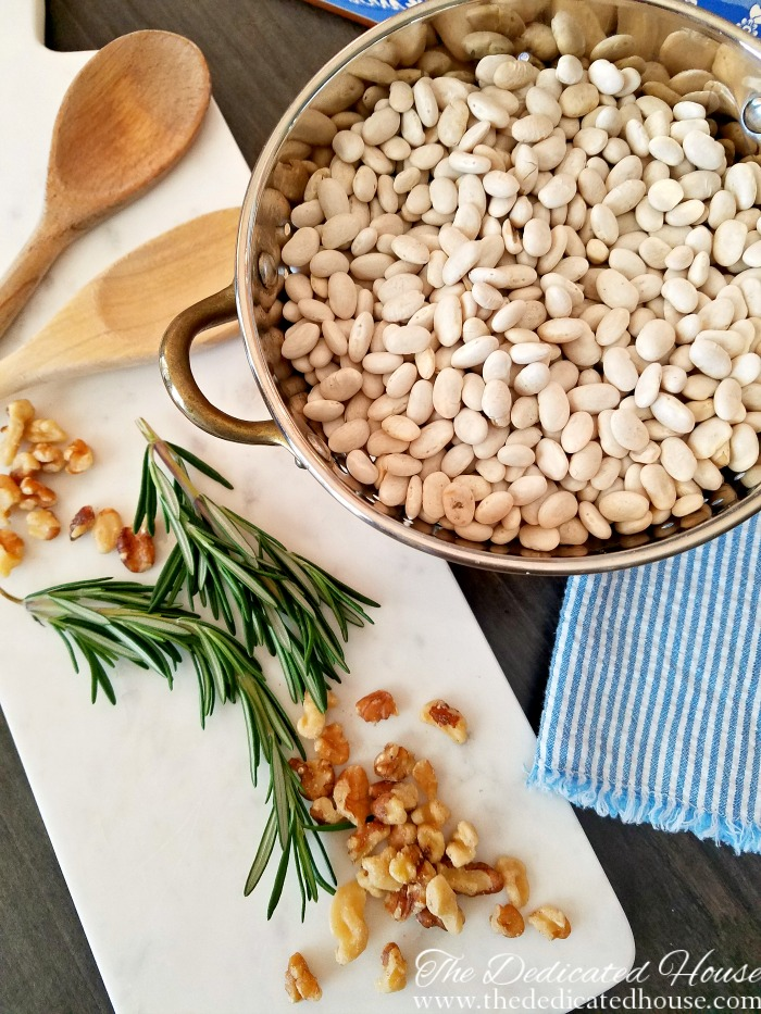 Kitchen - White Bean Rosemary Soup