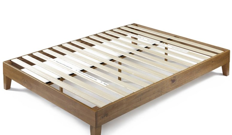 How to Make Platform Bed out of Pallets - The Dedicated House