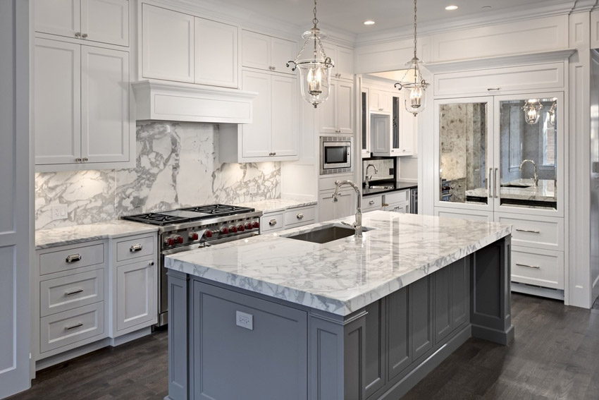What Are The Differences Between Honed Satin And Polished Marble Worktops The Dedicated House