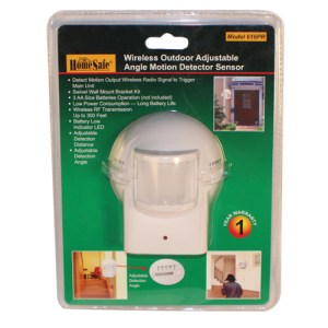 Wireless Outdoor Motion Sensor