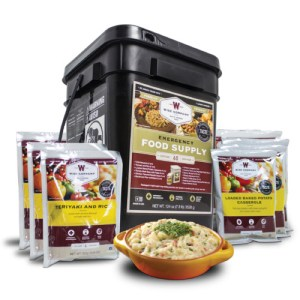 60-Serving Emergency Food Supply