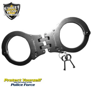 Police Force Heat Treated Handcuffs