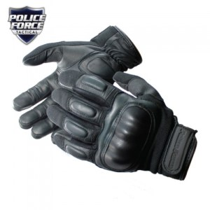 Police Force Hard Knuckle Tactical Gloves