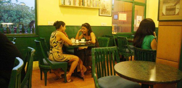 City Hangout - Café Turtle, Khan Market