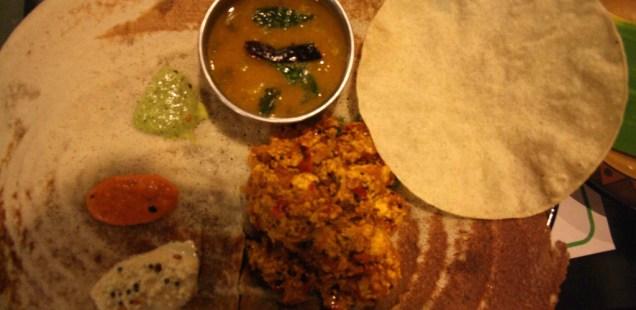 City Food – Paneer Dosa, Naivedyam